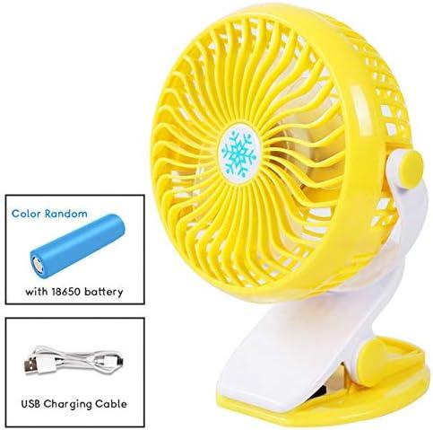 Mdsfe Ventilador USB portátil de Verano Mini Ventilador de Carga ...