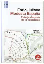 Modesta españa (OTROS NO FICCIÓN): Amazon.es: JULIANA, ENRIC: Libros