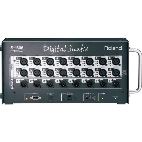 Roland 16x8 Stage Unit Digital Snake System, Includes REAC C