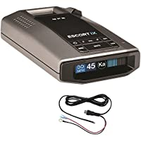Escort Escort iX Radar Detector Power Bundle + Radar Detector Direct Wire Power Cord