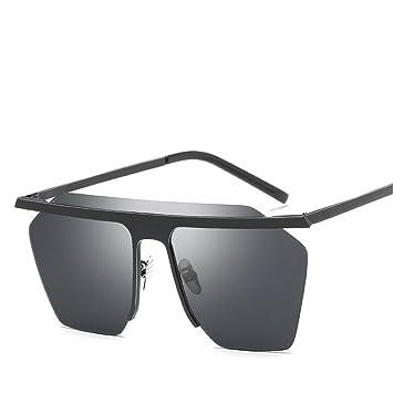 GUO Las Gafas de Sol Elegantes y Sencillas Gafas de Sol de ...