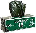 DOGIPOT 1402-10 10 Roll Case, Litter Pick up Bag Rolls, 200 Bags per Roll, Pack of 10