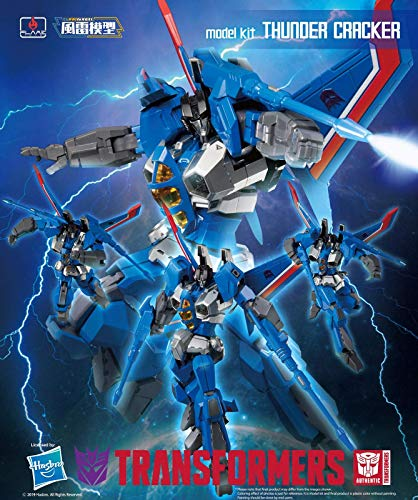 Flame Toys Transformers Thundercracker Thunder Cracker Furai Model Kit (Bumblebee Model Kit)