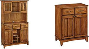 Buffet of Buffets Cottage Oak with Wood Top by Home Styles & of Buffet Cottage Oak with Wood Top by Home Styles