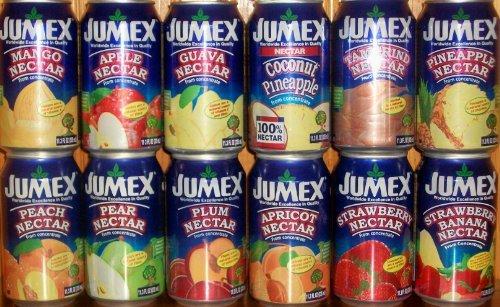 Jumex Nectar Sampler Pack 11.3oz Cans (Pack of 12)