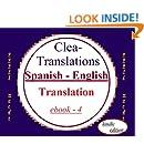 Spanish To English Translation (Spanish Edition)
