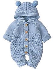 Unisex Baby Cloth Winter Coats Cute Newborn Infant Jumpsuit Snowsuit Bodysuits