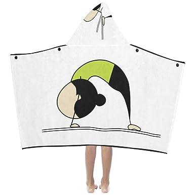 Amazon.com: Danexwi - Manta con capucha para yoga, diseño de ...