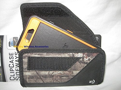 Nite Ize Sideways Extended Tough Black /Camouflage Mossy Oak Horizontal Fitting , Extremely Durable Rugged / Heavy Duty X-large Holster Pouch W/Durable Fixed flex Clip Fit Securely Over And Under Belt / Weather-Resistant / Storage Compartment Holds Identification/ Cash And Credit Cards/ Absorbs Shocks/ Fits Your BlackBerry Priv Cellphone - Purple Blackberry Faceplates