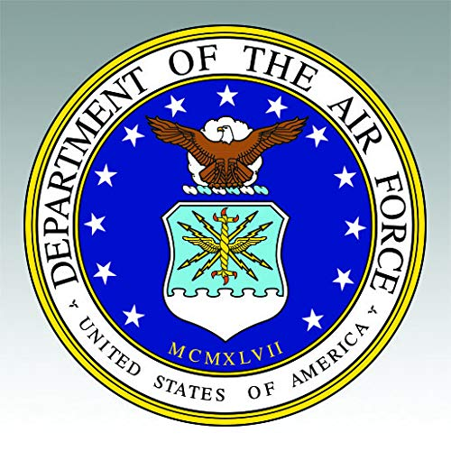 Department Air Force Seal - RDW Department of The Air Force Seal Sticker Premium Decal Die Cut USAF United
