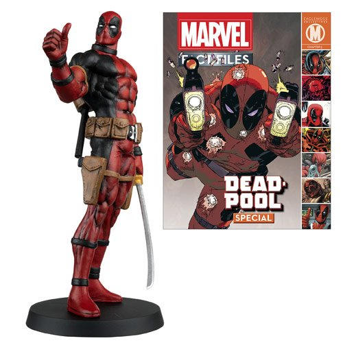 Deadpool Marvel Fact Files Special #5 Figure and Magazine -