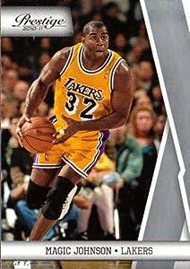 2010 Panini Prestige NBA Basketball Card 139 Magic Johnson M (Mint)
