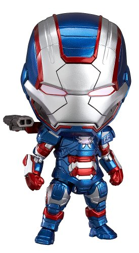 Good Smile Iron Man 3: Iron Patriot: Hero's Edition Nendoroid Action ()
