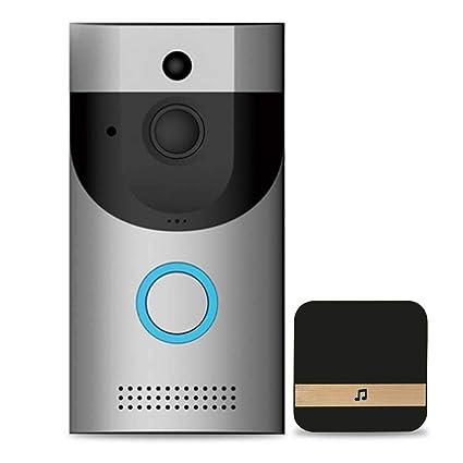 Ring Video Doorbell,Timbre Vídeo Inalámbrico Videoportero 720P HD con Timbre Chime Incluido, Audio