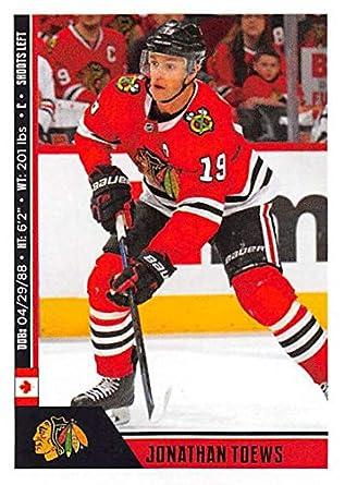 2018-19 Panini NHL Stickers Hockey  330 Jonathan Toews Chicago Blackhawks 596830c9d