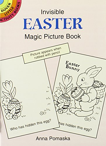 10 Easter Fun Books: Stickers, Stencils, Tattoos and More (Dover Little Activity Books) by Dover Publications (Image #4)