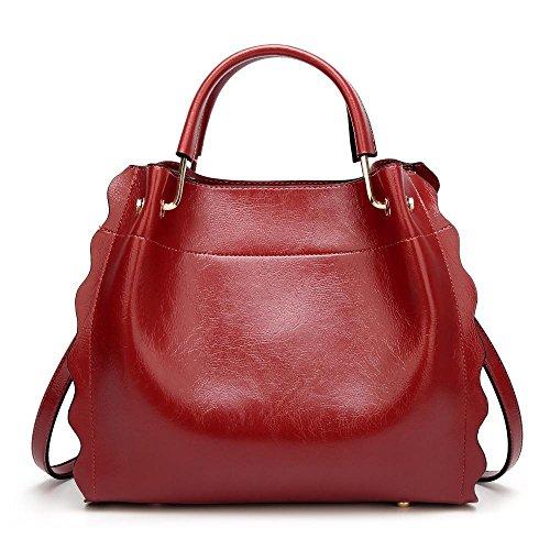 De Gran 32cmx16cmx27cm La Dama Red Hombro Tamaño Moda Capacidad Solo Penao bolso Sub Messenger qT5R0n