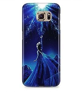 Frozen Princess Elsa Hard Plastic Snap On Back Case Cover For Samsung Galaxy S6 (Not Edge) Carcasa