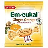 Dr. Soldan Em-eukal Sugar Free Lozenges, Ginger/Orange, 1.8 Ounce (Pack of 20)