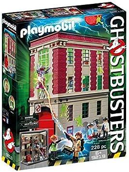 PLAYMOBIL Ghostbusters, Cuartel Parque de Bomberos, a Partir de 6 ...