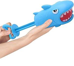 Shark Water Blaster Squirt Gun - Kids Summer Toys for Beach Swimming Pool