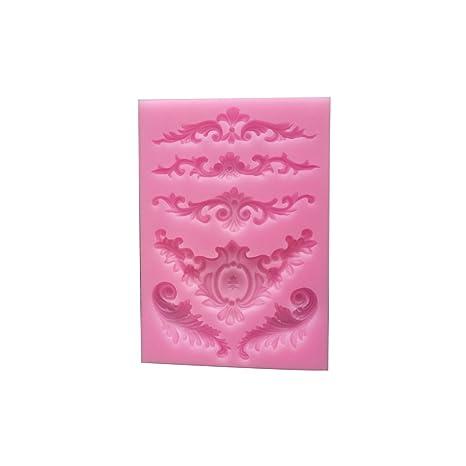 Molde de silicona para decoración con lazos de azúcar