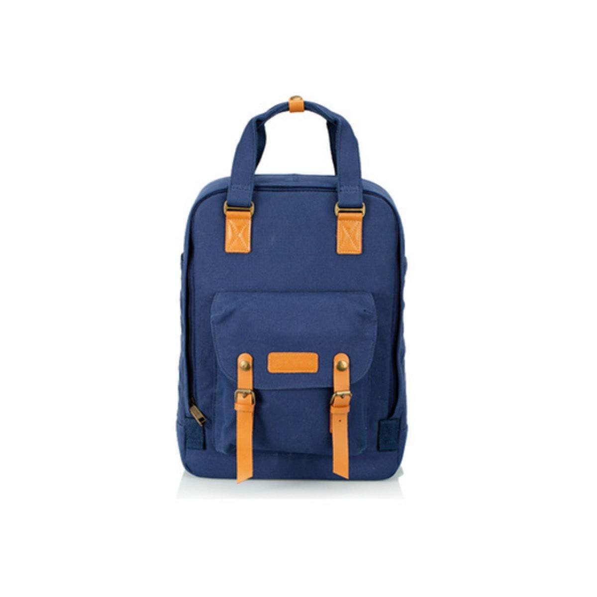 カメラバッグ、カジュアルカメラバックパックバッグ、ユニセックス大容量ショルダーニューデザイン、ピンク、ブルー (Color : Blue) B07R3ZFKF1