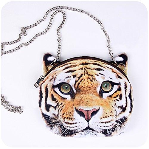 Lifelike Animals Printed Shoulder Handbag product image