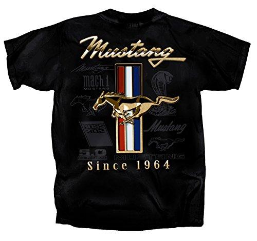Ford Mustang Tribar GT Mens Shirt (XL)