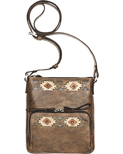 american-west-native-sun-crossbody-wallet-distressed-charcoal-brown
