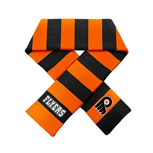 Forever Collectibles Philadelphia Flyers Official NHL Striped Rugby Scarf 382176 by Forever Collectibles