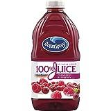 Ocean Spray 100% Juice, Cranberry Raspberry, 60 Ounce Bottle (Pack of 8)