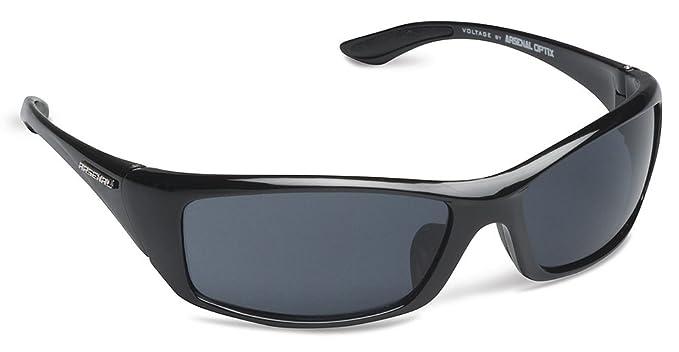 fdfaa6f760d Amazon.com  Arsenal Optix Voltage Pure Polarized Sunglasses  Clothing