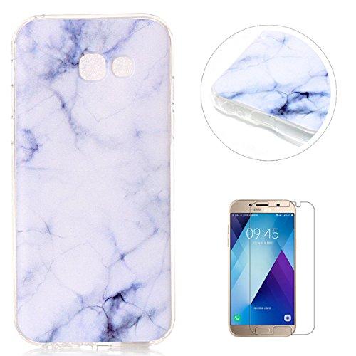 coque samsung a5 2017 silicone marbre