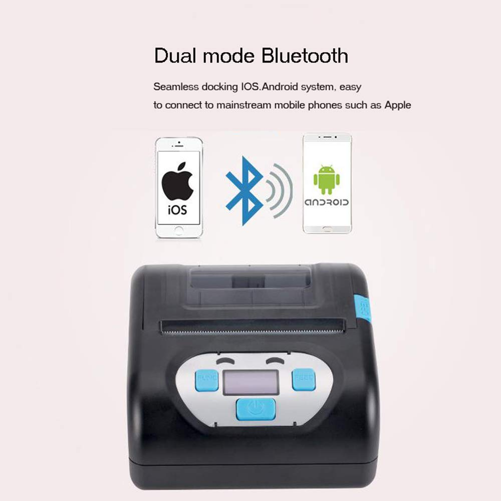 BAIYI Portable Bluetooth Label Printer Waterproof Drop-Proof One-Button Printing Express Label Printer by BAIYI (Image #4)
