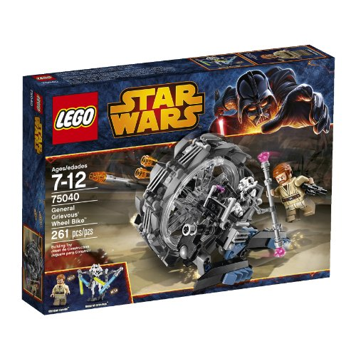 - LEGO Star Wars 75040 General Grievous' Wheel Bike (Discontinued by manufacturer)