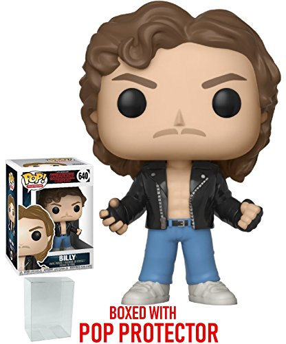 - Funko Pop! Stranger Things - Billy at Halloween Vinyl Figure (Bundled with Pop Box Protector Case)