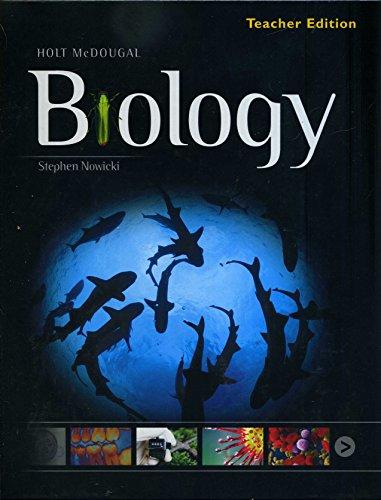 Holt McDougal Biology Teacher Edition Book By Holt McDougal