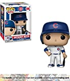 Funko Anthony Rizzo [Chicago Cubs]: x POP! MLB Vinyl Figure + 1 Official MLB Trading Card Bundle [#006 / 30232]