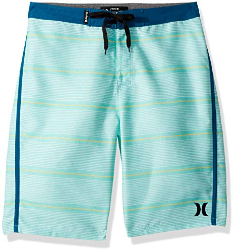 - Hurley Big Boys' Board Shorts, Green Glow, 10