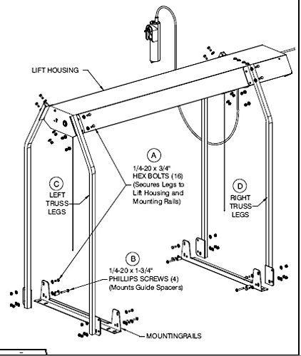 Versalift Model 24 Truss Leg Kit Purchase Requires You