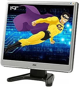Pantalla plana PC 19 AOC 197sj tft1980psa + LCD TFT TN VGA Audio In VESA 1280 x 1024: Amazon.es: Electrónica