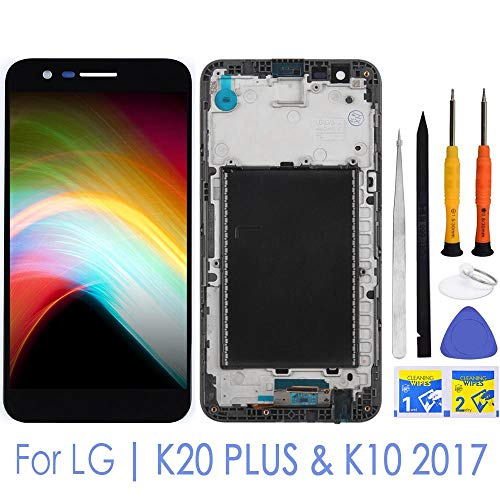 - iFixmate LCD Screen Replacement Touch digitizer with Frame Housing Pre Assembled for LG K20 Plus T-Mobile TP260 MP260 / Verizon-VS501