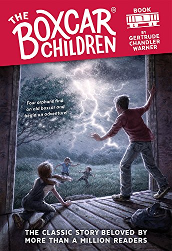 The Boxcar Children (The Boxcar Children Mysteries Book 1) (The Kids Books Car Box)