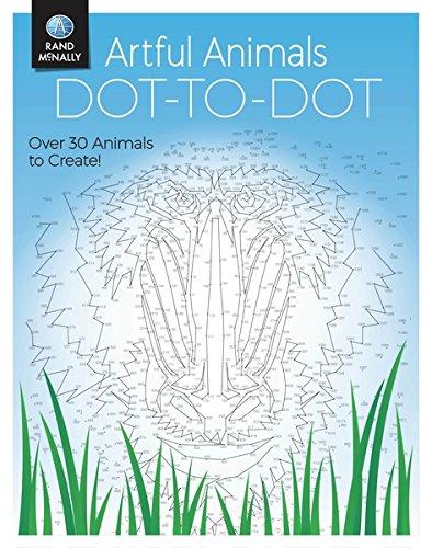 Amazon Com Artful Animals Dot To Dot 9780528017742 Rand Mcnally