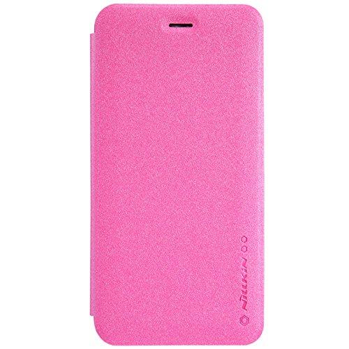 (HS-TOP  ® Funken Conque NILLKIN case cover PU-Leder flip-Schutzhülle für Apple iPhone 6 Plus (5,5 Zoll), Rot