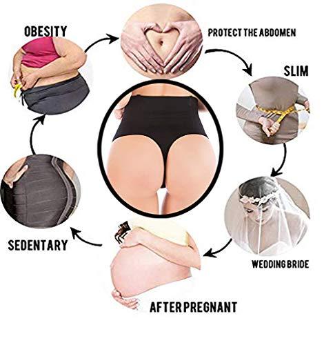 a73b862232423 SAYFUT Women Waist Cincher Girdle Tummy Slimmer Sexy Thong Panty Shapewear  Black US 6-8