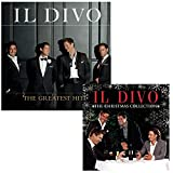 Music : The Greatest Hits - The Christmas Collection - Il Divo 2 CD Album Bundling