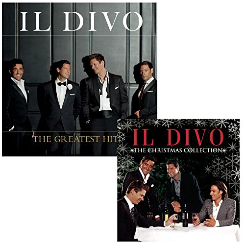 The Greatest Hits - The Christmas Collection - Il Divo 2 CD Album Bundling