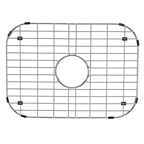 Stainless Wire Bottom Grid - VIGO Stainless Steel Bottom Grid, 18.125-in. x 13.375-in.